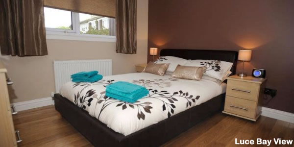 Luce Bay Self Catering | Double Bedroom